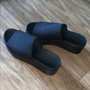bebe platform shoes